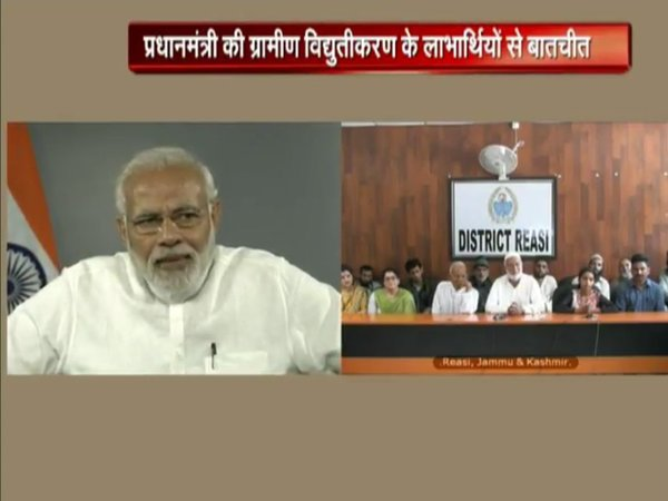 PM Modi interacting on NaMo app