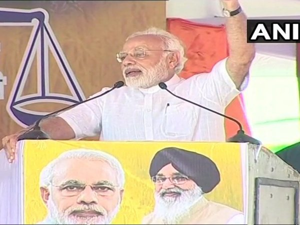 Congress never cared for farming community, PM Modi in Punjab