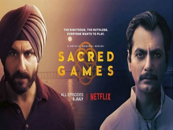 Netflix series Sacred Games