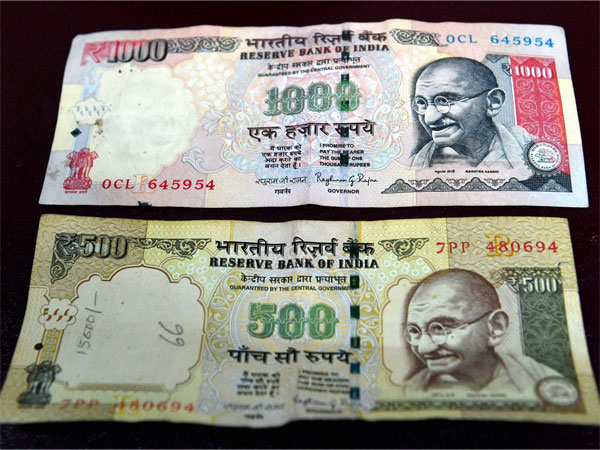 Old demonetised notes