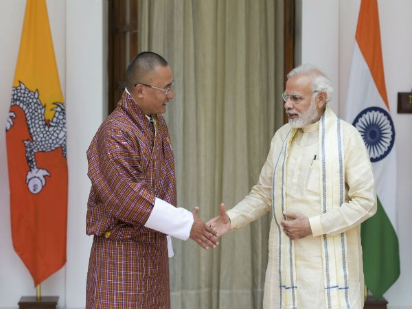 PM Modi holds talks with Bhutanese counterpart