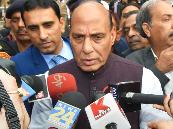 Union Minister of Home Affairs Rajnath Singh