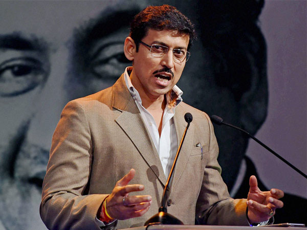 Union Information and Broadcasting Minister Rajyavardhan Singh Rathore