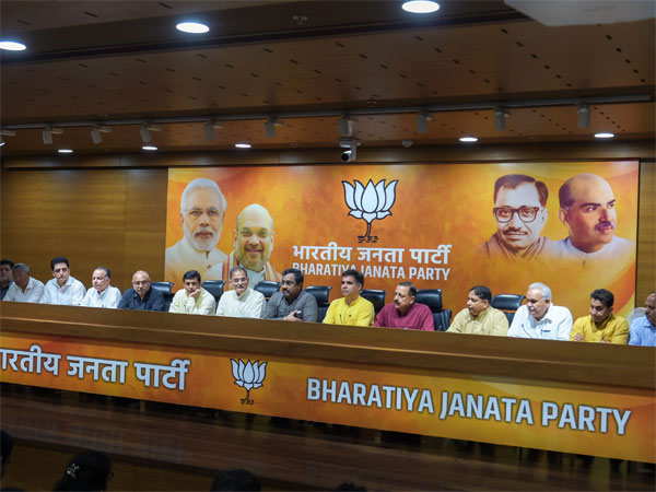 BJP for continuance of Governor's rule in Jammu and Kashmir