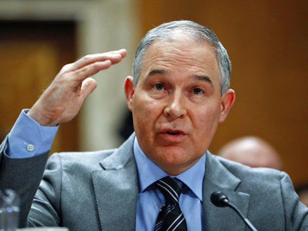 EPA chief Scot Pruitt, another of Trump's high picks, resigns over ethics violation