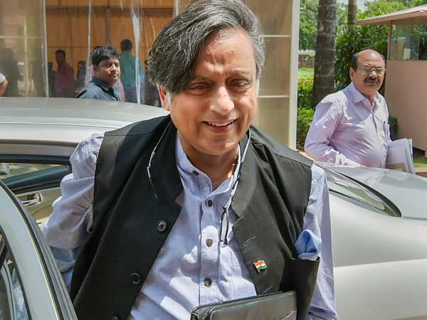 File photo of Congress MP Shashi Tharoor