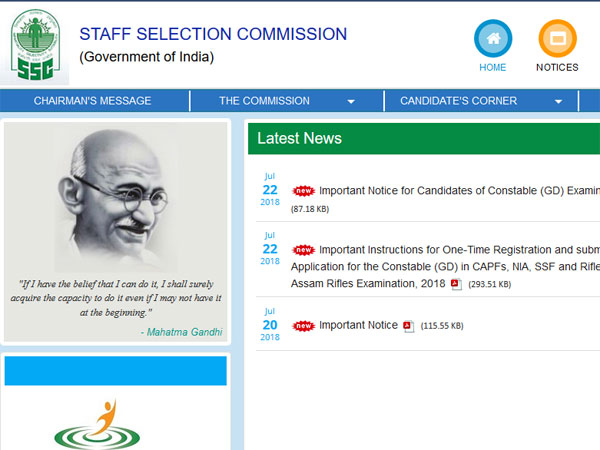 SSC GD Constable application process: Important update on new dates
