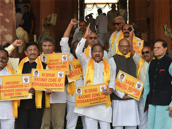 Monsoon Session: TDP set to move no-confidence motion against Centre