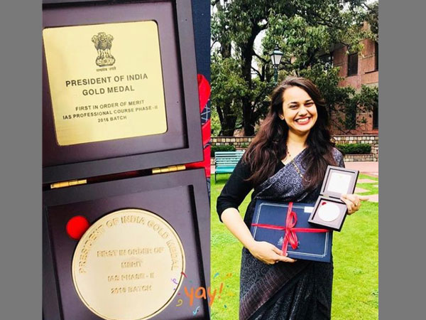 IAS topper Tina Dabi conferred with President's Gold Medal after 2-year training at LBSNAA
