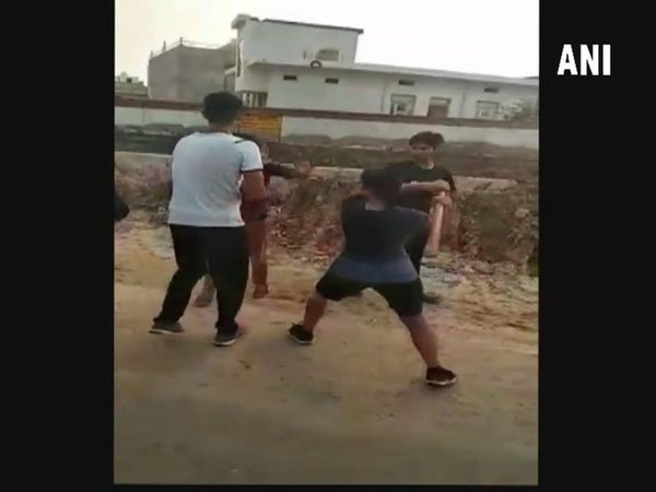 Girl Thrashes Boy Black And Blue In Bharatpur For Allegedly Defaming Her