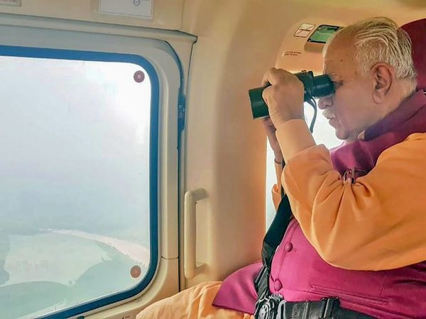 Aerial survey by Manohar Lal Khattar