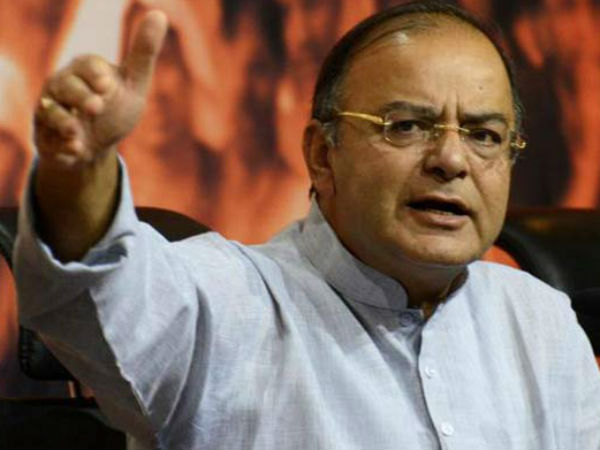 File photo of Union Minister Arun Jaitley