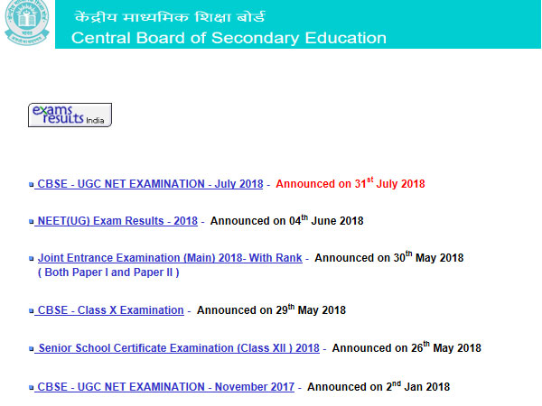 CBSE Class 12 Compartment Results 2018 date: Expected this week