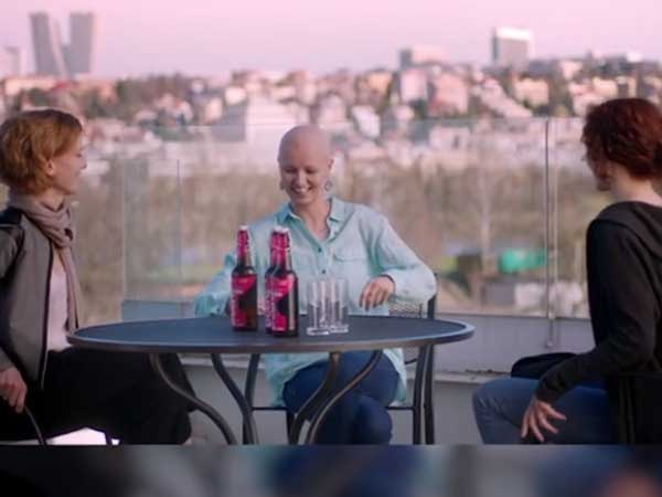 A beer meant for women suffering from breast cancer; to beat the 'chemo mouth'