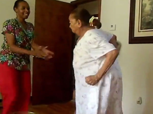 Ever seen a 94-year-old dancing like this? It's way too funny but also educative