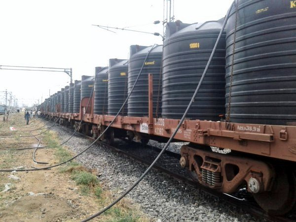 Central Railway sends over 14L ltr