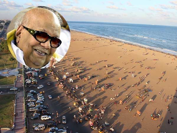 Karunanidhi will be buried at Marina rules Madras HC, govt directed to allot land