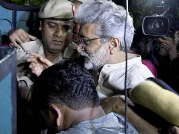 Gautam Navlakha and others were arrested, in connection with its ongoing probe into suspected Maoist links- PTI photo