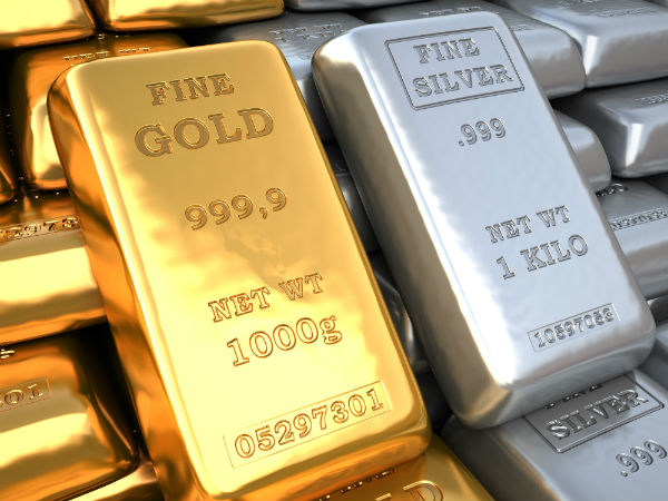 Gold prices recovers, silver weakens