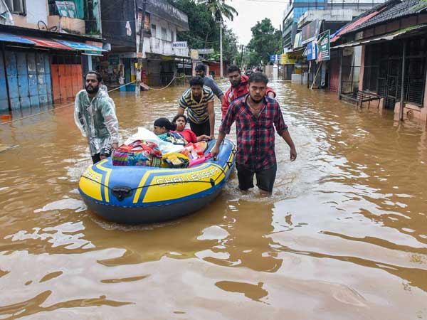 Devastation in Kerala due to incessant rains