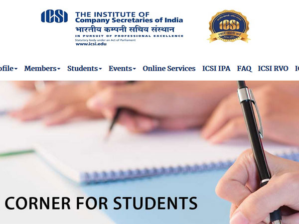 ICSI CS result 2018 declared, steps to check