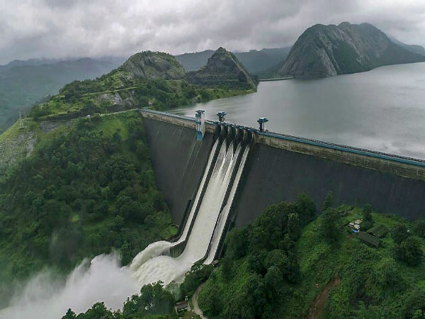 Water level in the Idukki hydel reservoir dropped