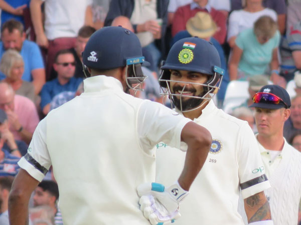 As mark of respect to Vajpayee, Indian players sport black armbands
