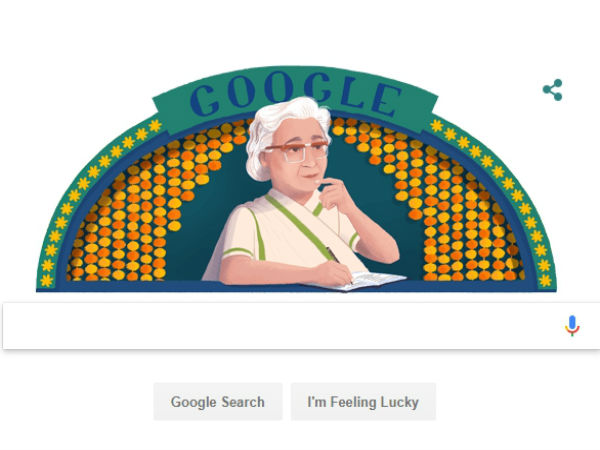 Who is Ismat Chughtai? todays Google doodle