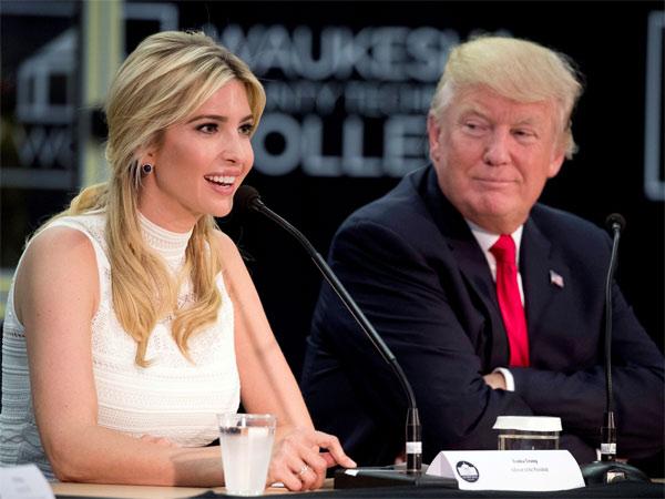 Trump downplays Ivanka's remarks on media