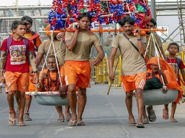 Kanwariya Yatra: 4 brothers from Haryana are modern day Shrawan Kumars