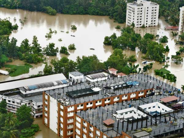 Heavy rains and floods wreaked havoc in Kerala