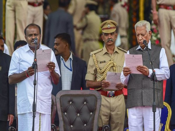 Kumaraswamy swearing-in as chief minister