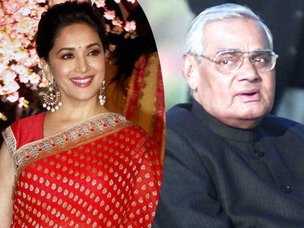 How Madhuri Dixit distracted Vajpayee from Gulab Jamuns
