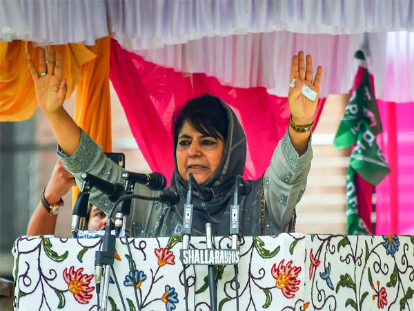 Peoples Democratic Party (PDP) President Mehbooba Mufti