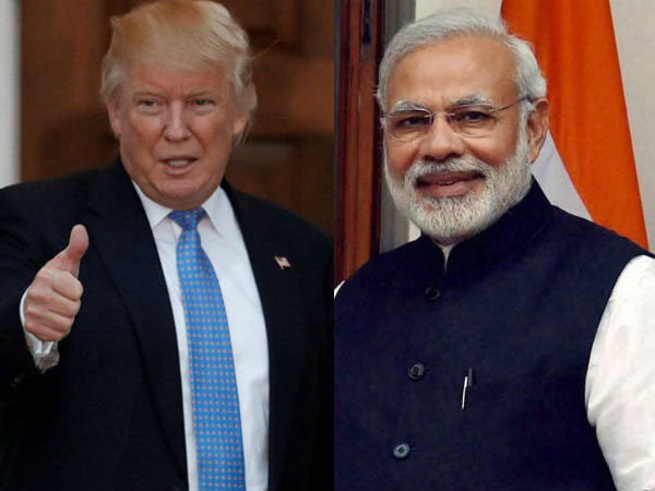 US President Donald Trump and Indian Prime Minister Narendra Modi