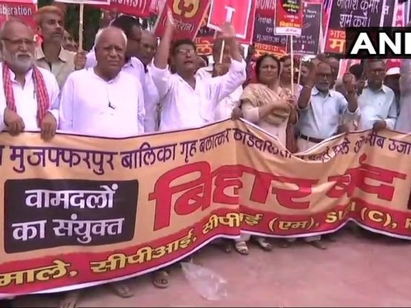Left parties take out protest