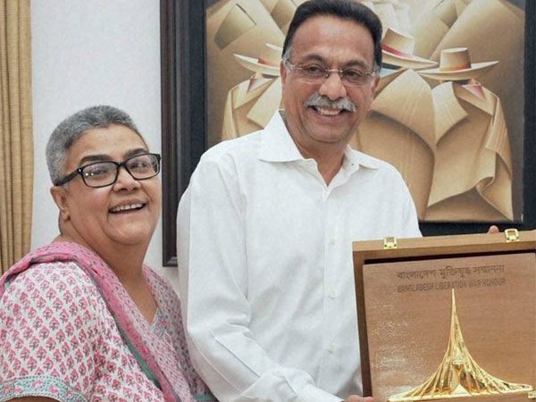 Namita and Ranjan Bhattacharya | PTI file photo