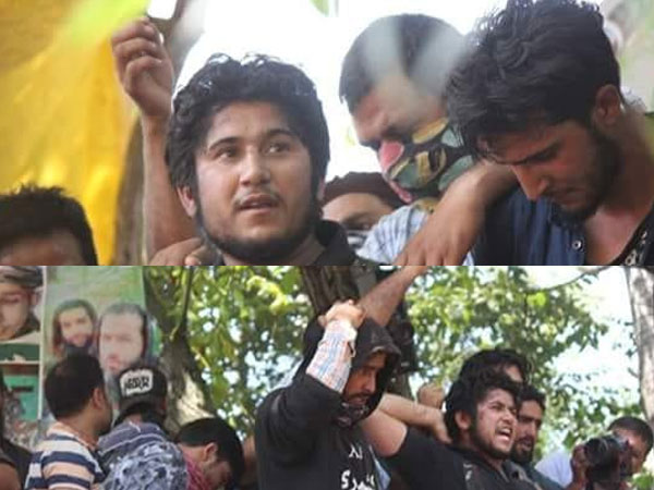 Lashkar's Naved Jatt makes public appearance at terrorist's funeral in J&K