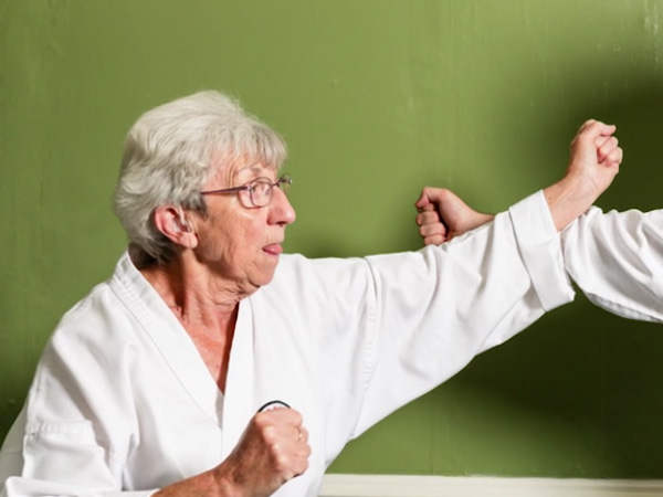 At 75, this karate-mad nan is hell-bent to win her black belt
