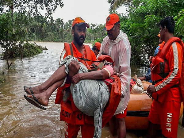 Rescue operations on full-swing in Kerala. Photo credit: PTI