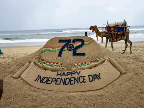 Sudarsan Pattnaik's beautiful sand tribute
