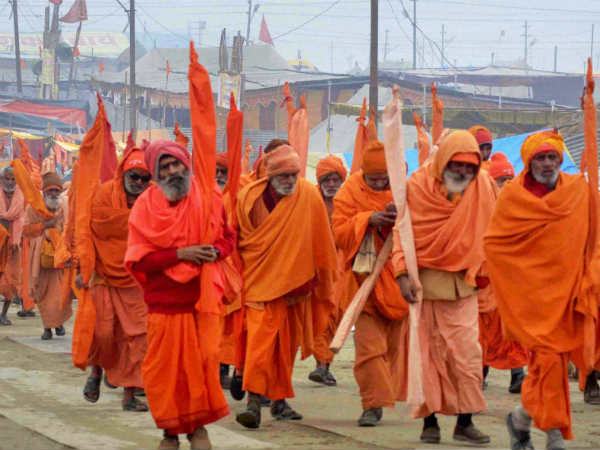 Killing of two Sadhus in temple sparks violence in UP