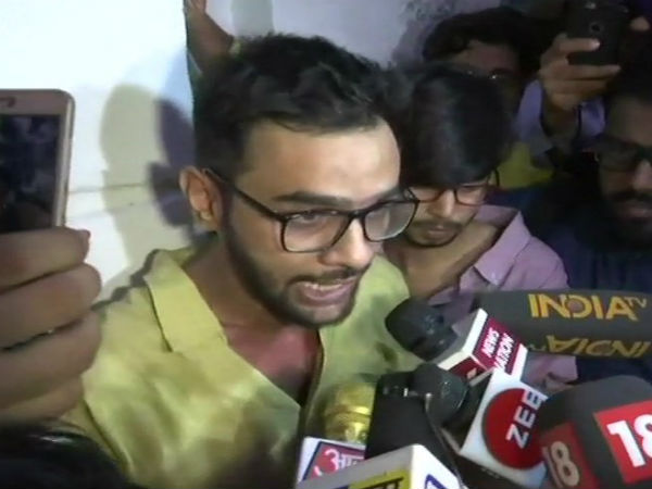 Two detained for questioning in Umar Khalid attack case