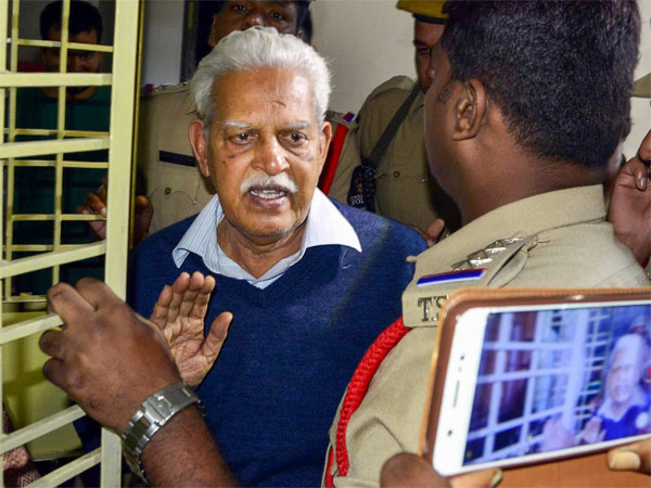 Not conspiracy, case against us for fighting facist policies: Varavara Rao