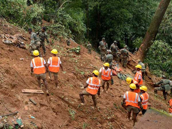 Heavy rains, landslides claim 16 lives in Keral