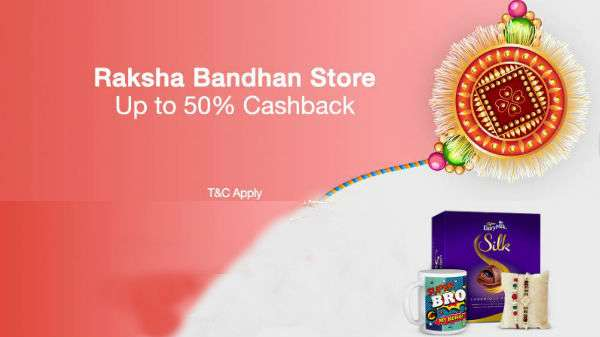 Paytm Mall offers attractive rakhis with cashback
