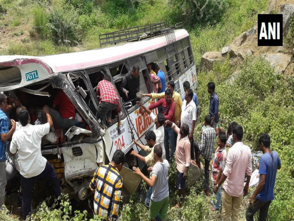 [Jagtiyal bus accident: 52 pilgrims dead, KCR announces Rs 5 lakh ex-gratia to family of deceased]