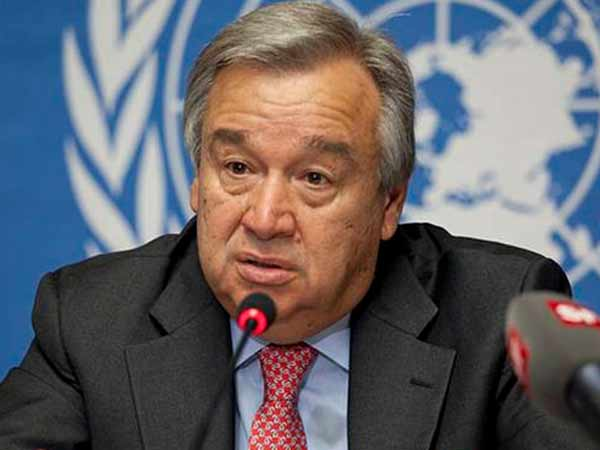 File photo of UN Secretary-General Antonio Guterres