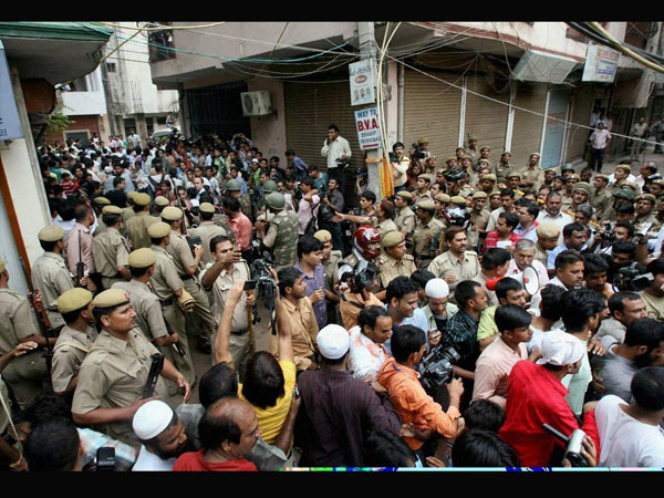 Visuals from outside the Batla House (File picture)