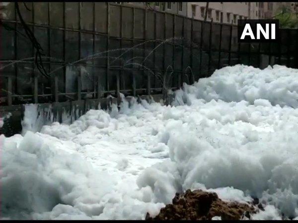 Bengaluru rains: Bellandur lake resembles a giant pool of foam yet again